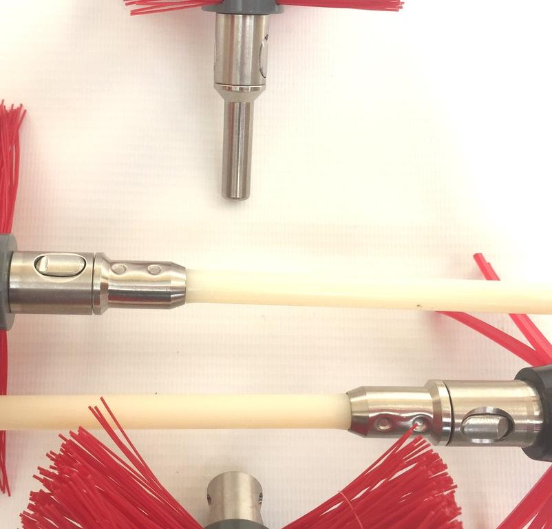 Rotary Power Sweeping Snaplok Rotary Power Chimney Flue